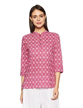 Amazon Brand- Myx Women's Straight Kurta Kurtas & Kurtis at amazon