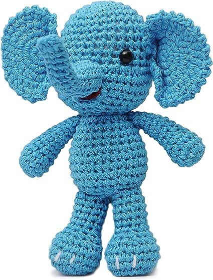 Esther the Elephant Free Amigurumi Pattern | Jess Huff | 559x425