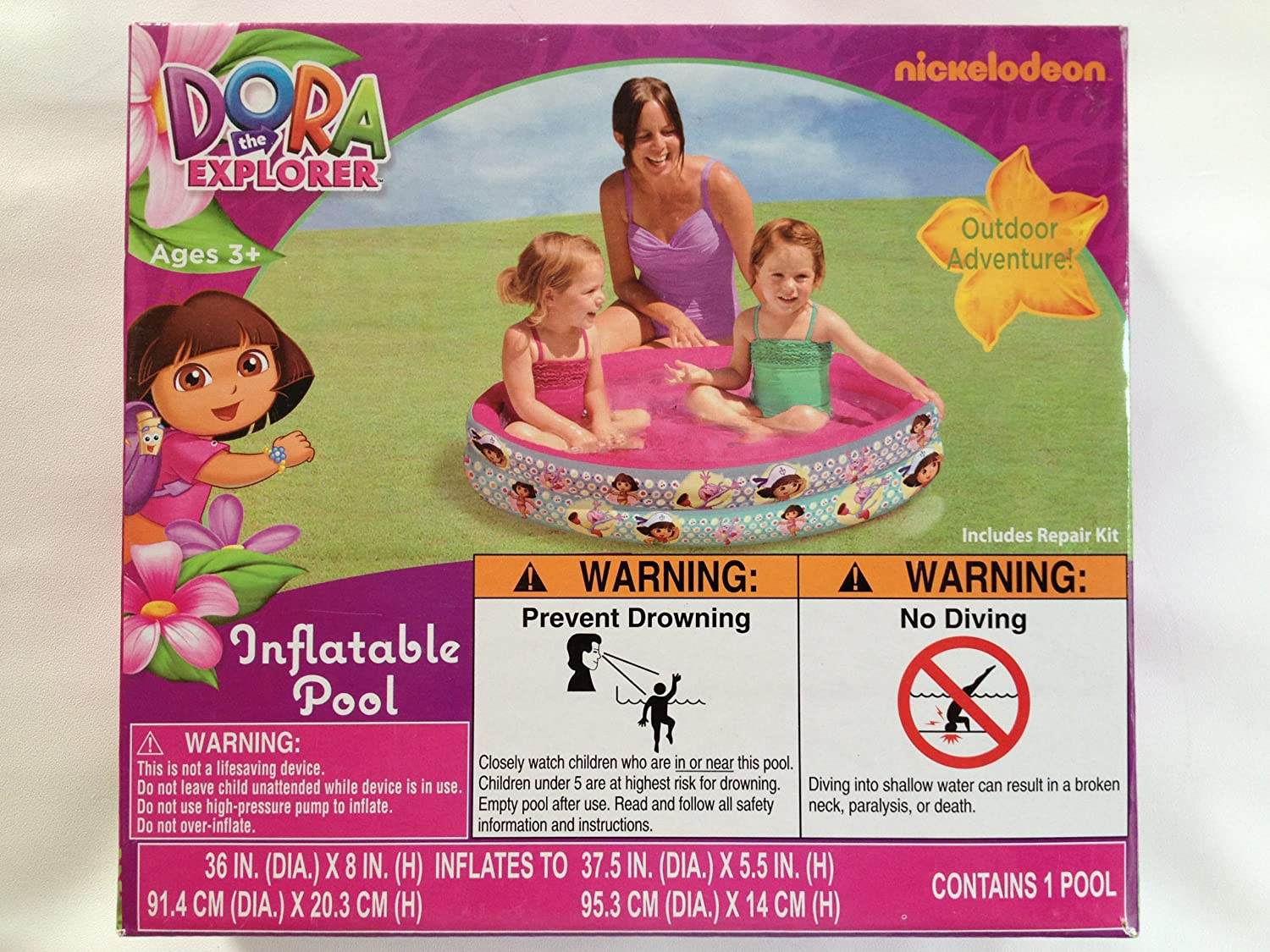 Inflatable Pool - Dora The Explorer (36