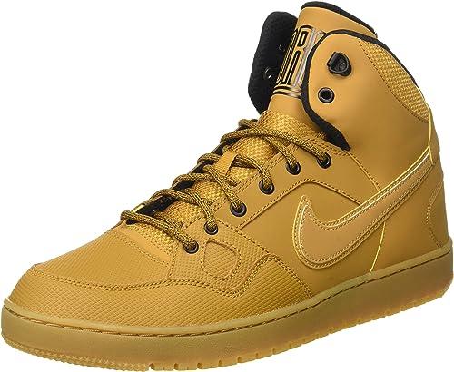 Trampolín En general Manchuria  Nike Son Of Force Mid Winter, Men's Basketball Basketball Shoes, Brown /  Beige / Yellow / Black (Wheat / Wheat-Black-Gm Lght Brwn), 6 UK (39 EU):  Amazon.co.uk: Shoes & Bags