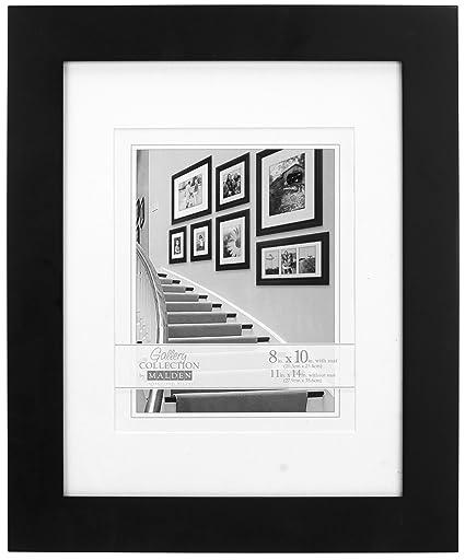 Amazon.com - Malden 2082-80 Manhattan 8 by 10-Inch Black Wall Frame ...