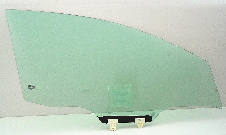 Compatible with 2013-2019 Nissan Sentra 4 Door Sedan Passenger Right Front Door Window Glass