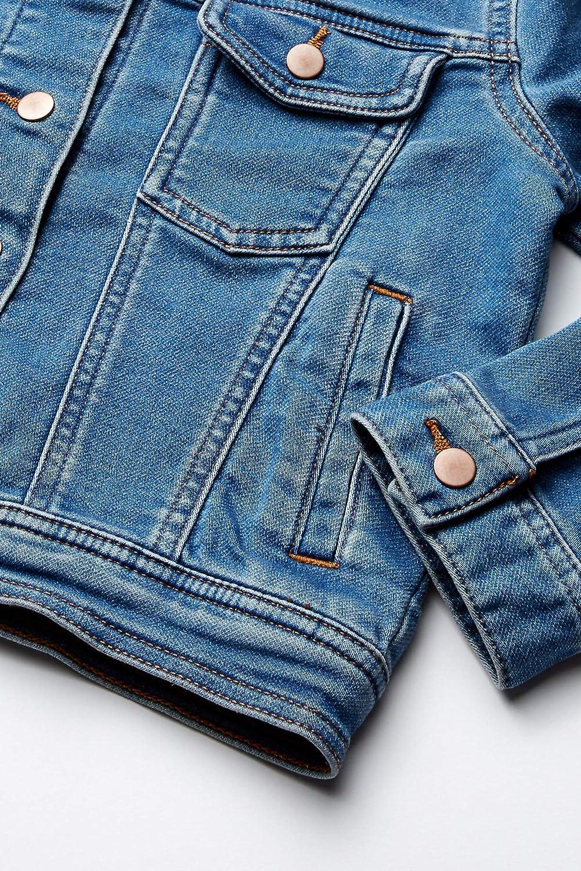 Spotted Zebra Girls Knit Denim Jacket Brand