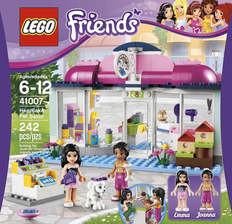 Amazoncom Lego Friends Heartlake Pet Salon 41007 Toys Games