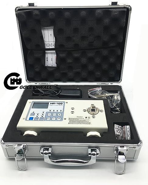 HP-100 VEVOR Digital Torque Meter Tester HP-100/±0.5/% Fs Torque Meter Wrench Measure Tester Screw Driver LCD Display