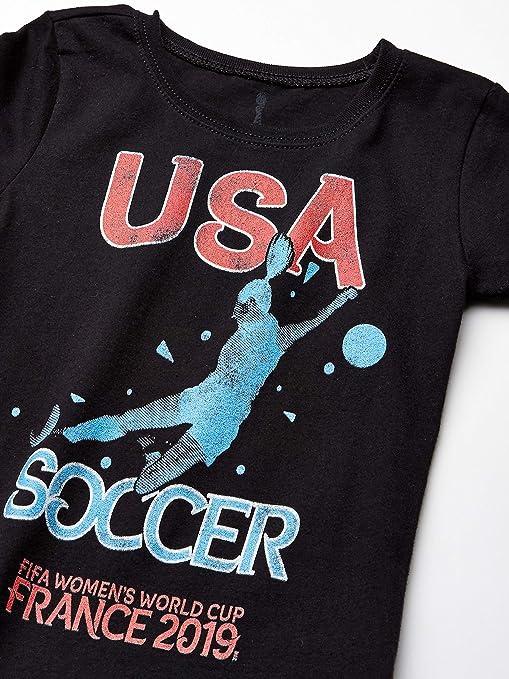 FIFA WWC France 2019 Team USA Youth Girls Tee Shirt