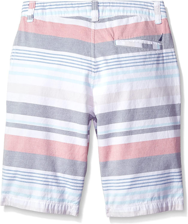 Nautica Toddler Boys Printed Flat Front Short