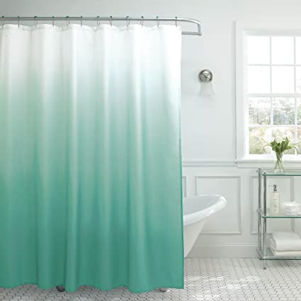 Image Unavailable Not Available For Color Creative Home Ideas Ombre Textured Shower Curtain