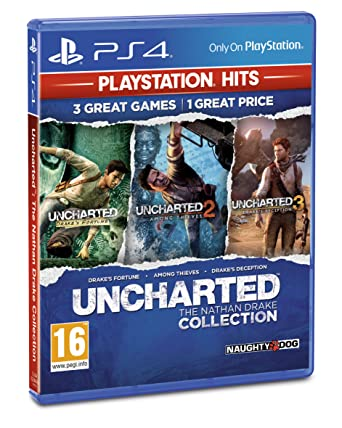 Amazon Com Uncharted Collection Playstation Hits Ps4 Video Games