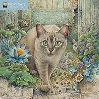 Ivory Cats - Mini Wall Calendar 2019 (Art Calendar)