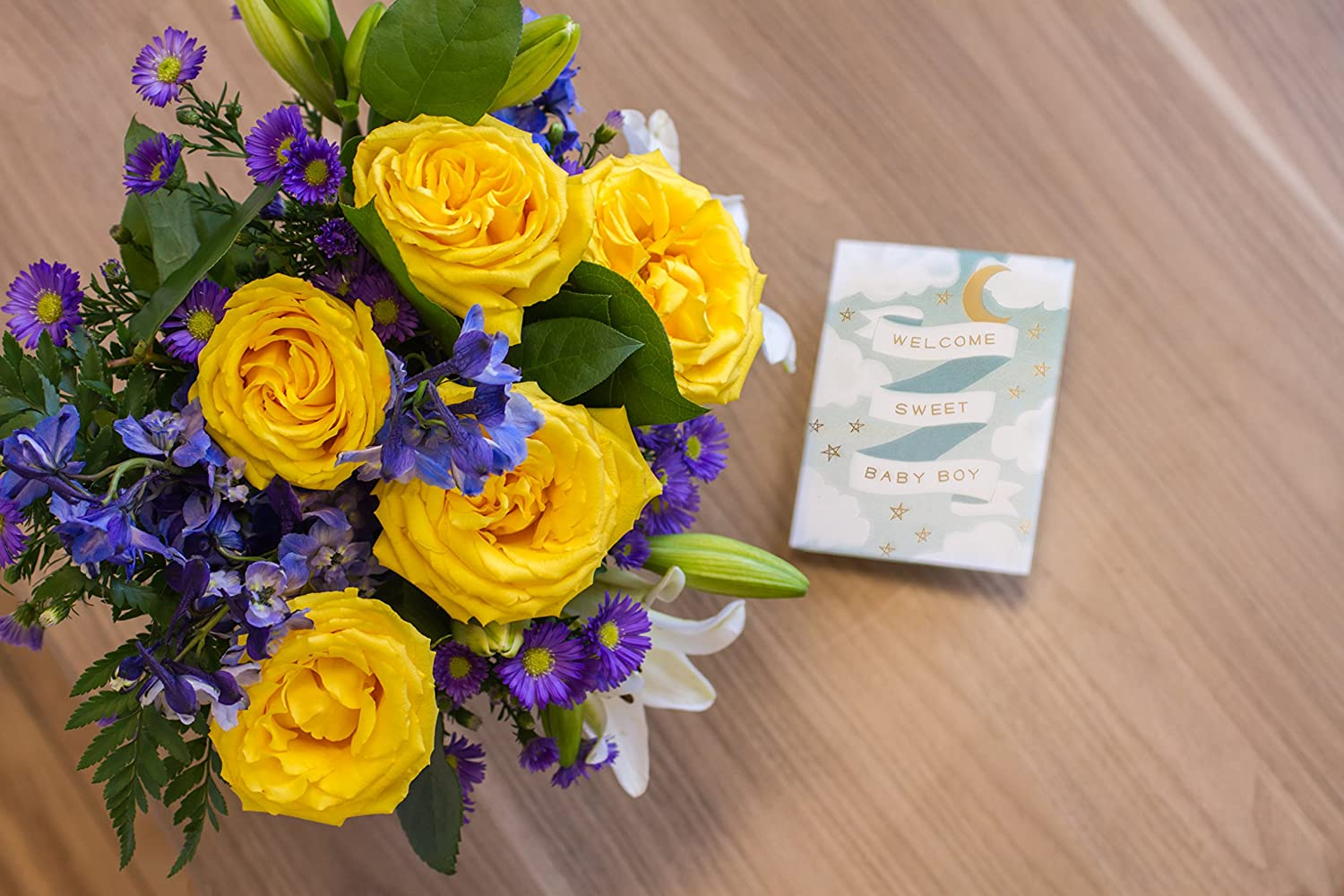 Amazon from you flowers the bright blue skies bouquet amazon from you flowers the bright blue skies bouquet grocery gourmet food izmirmasajfo