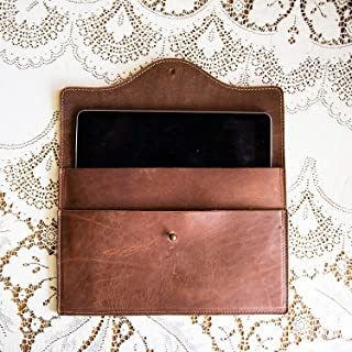 product image for The Wallace Personalized iPad Fine Leather Case for iPad Air & Air 2 in Brown