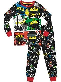 Lego Ninjago - Pijama para Niños - Lego Ninjago - Ajuste Ceñido