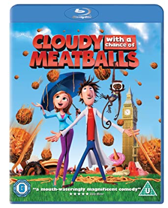 Cloudy with a Chance of Meatballs Blu-ray 2009 Region Free: Amazon