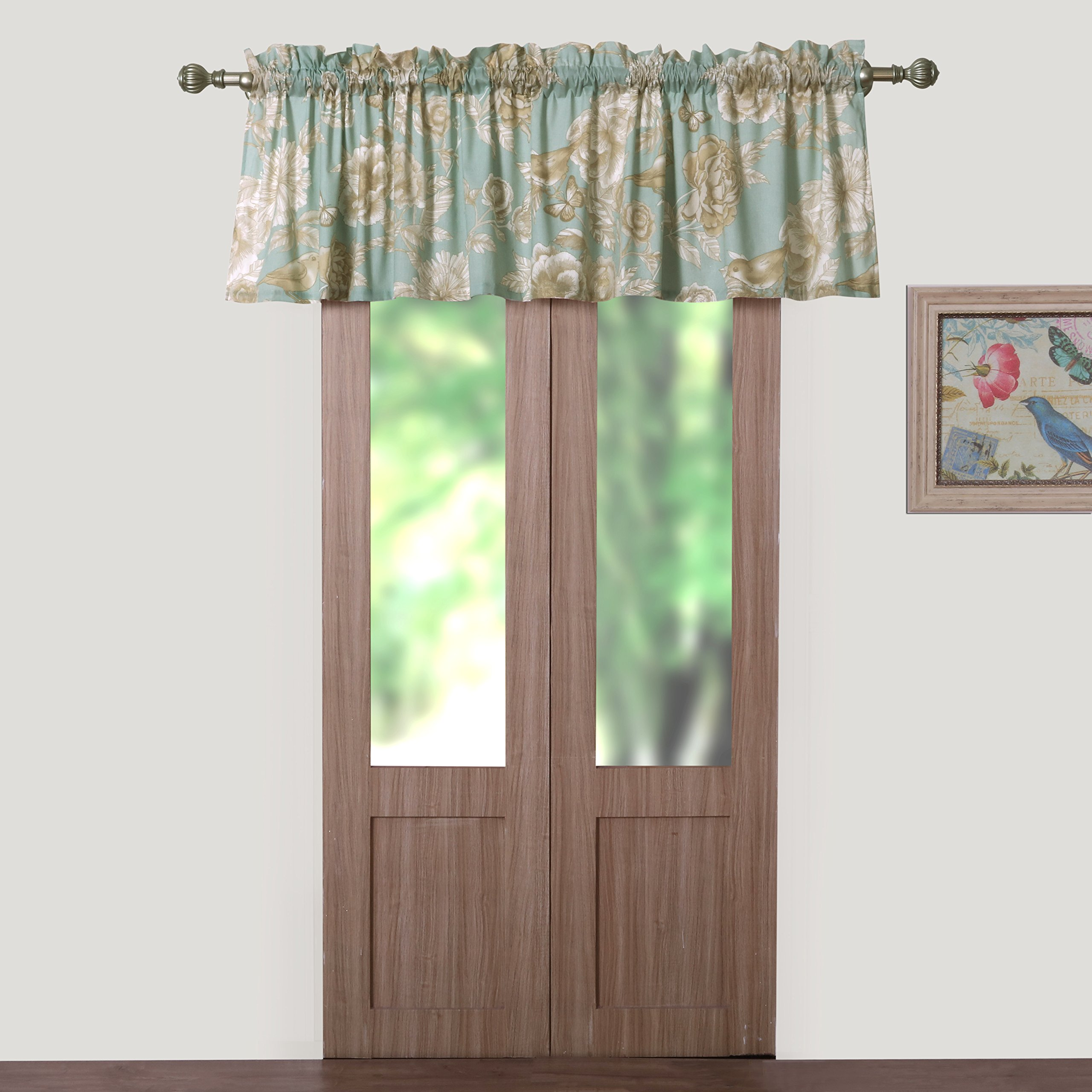 Barefoot Bungalow - Naomi Spa Window Valance