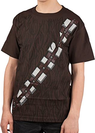 Toddler/'s Space Opera Film Star Wars I Am Chewbacca Brown Costume T-Shirt Tee