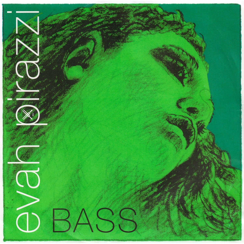Pirastro Evah Pirazzi 3/4 String Bass E String - Medium Gauge - Chromesteel/Synthetic Fiber BHBU0503A707