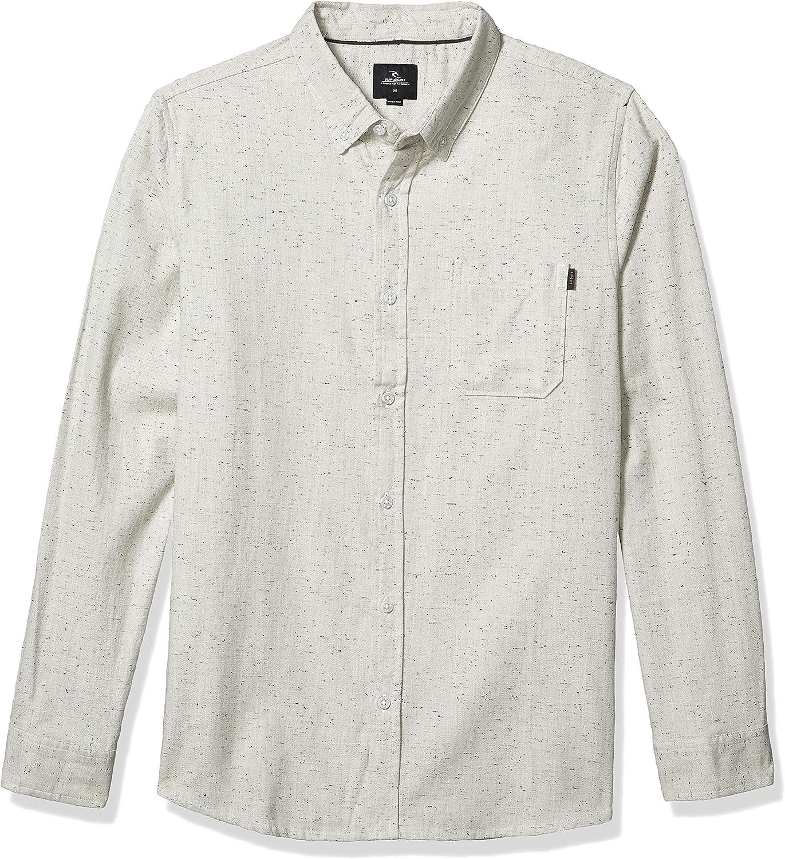 Rip Curl Brody - Camisa de manga larga para hombre - Blanco - Small: Amazon.es: Ropa y accesorios