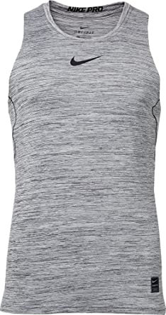 f4861ef8 Amazon.com: Nike Men's Pro Fitted Compression Tank Top: Clothing