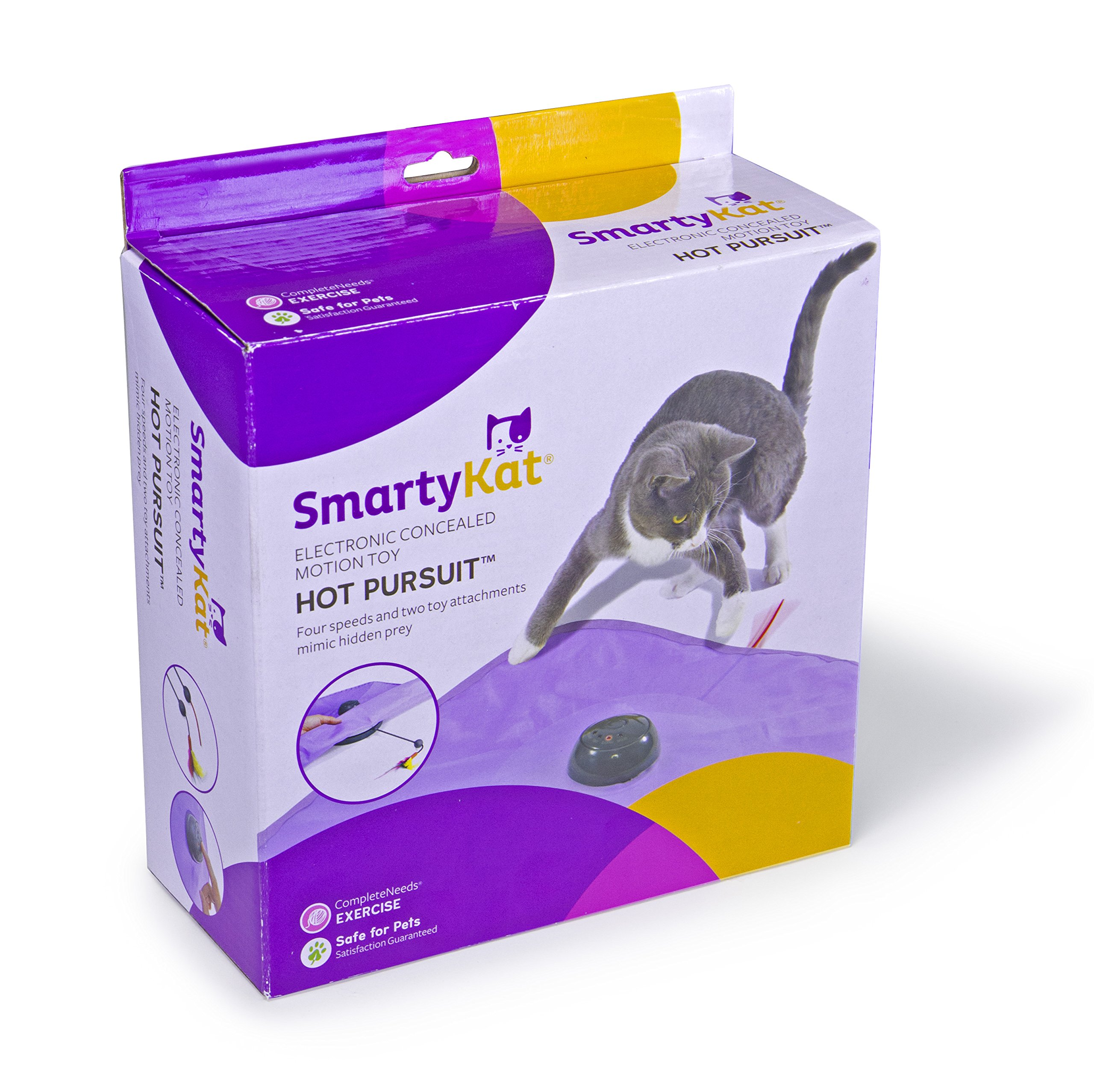 SmartyKat Hot Pursuit Cat Toy Concealed Motion Toy