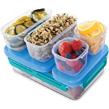 Rubbermaid LunchBlox Leak-Proof Entree Lunch Container Kit, Large, Blue