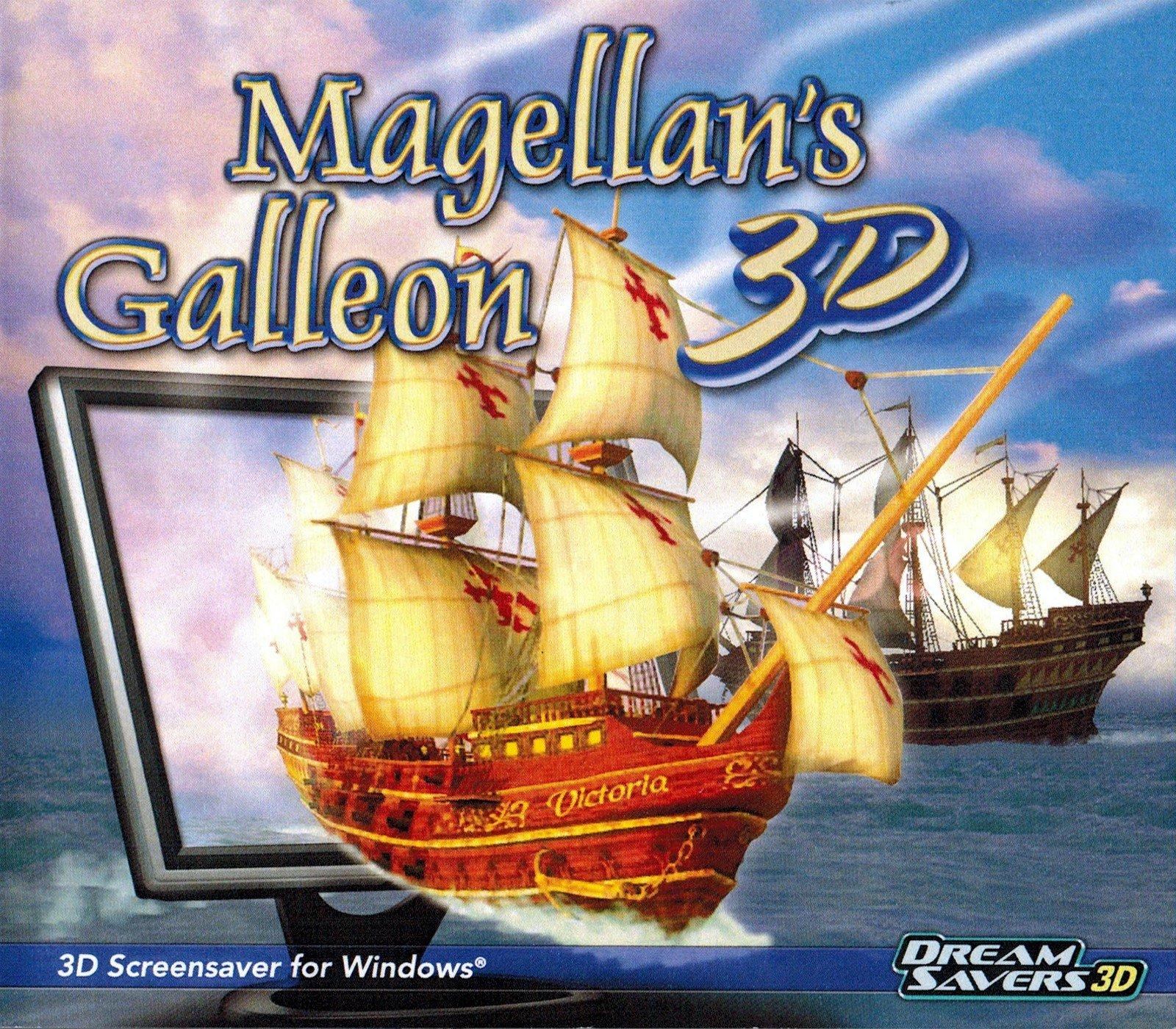 Magellan''s Galleon 3D Screensaver by Dream Saver 3D