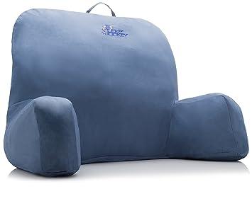 Sleep Jockey Therapeutic Grade Bed Rest Reading Pillow Blue