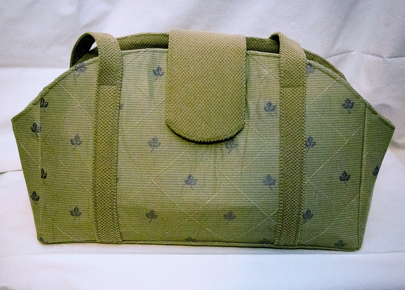 Fall Leaves and Pale Green Pet Purse Carrier by Creatures CoversTM (Image #3)