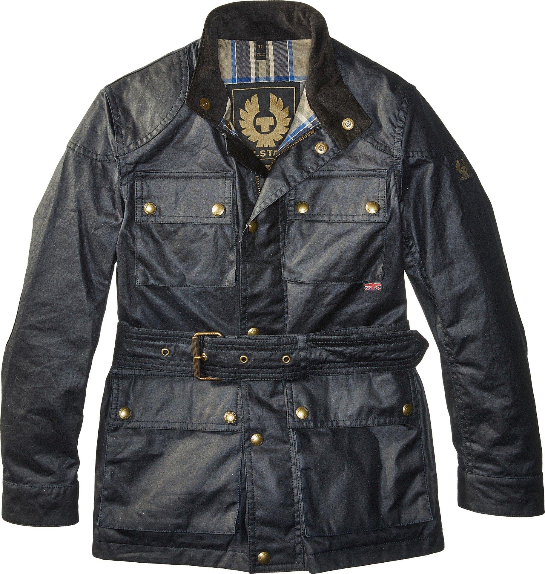 BELSTAFF Unisex Roadmaster Junior Jacket (Big Kids) Dark Navy 8 Years