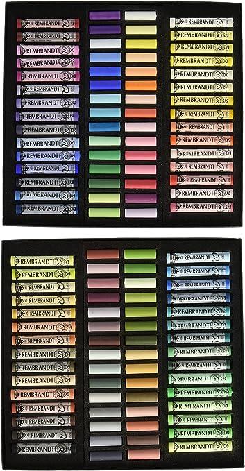31821003 Rembrandt Soft Pastels 10pc Half Stick Southwest Palette