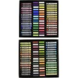 45 Piece Full Stick Portrait Assortment Wood Box Rembrandt Pastel Set