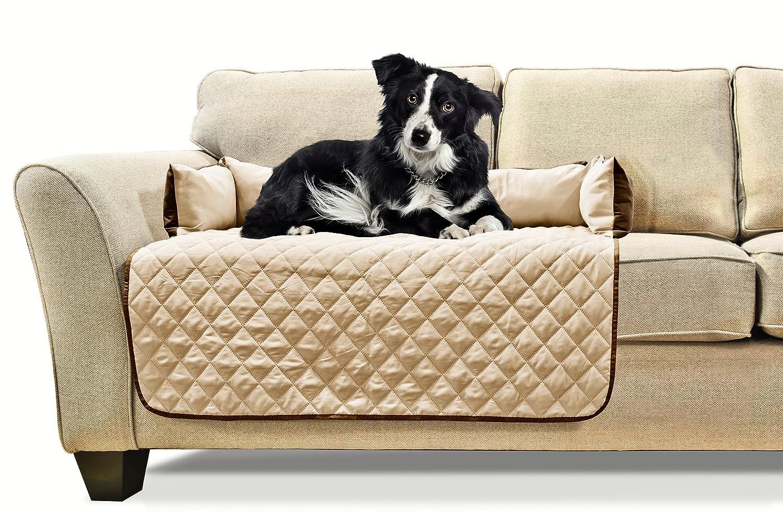 amazon com furhaven pet sofa buddy reversible furniture cover rh amazon com sleeper sofa covers Queen Size Sleeper Sofa