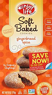 product image for Enjoy Life Gingerbread Spice Soft Baked Cookies, 6 oz