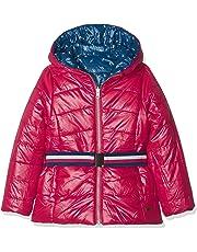 boboli Reversible Technical Fabric Parka For Girl Abrigo para Niñas