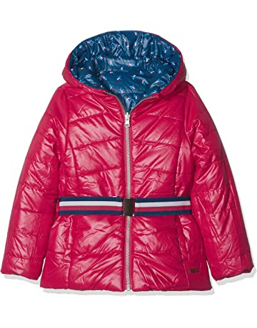 a0b0e2574 boboli Reversible Technical Fabric Parka For Girl Abrigo para Niñas