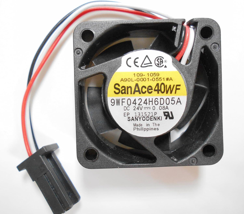 San Ace 40WF 9WF0424F6D03 FANUC A90L-0001-0507#A 40*40*20MM 24V 0.076A 3wire Cooling Fans