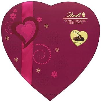 Amazon Com Lindt Chocolate Valentine Classic Chocolate Pralines
