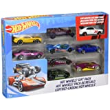 Mattel Hot Wheels 9 Car Gift Pack (Styles/Color May Vary)