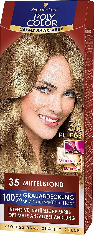 Schwarzkopf POLY COLOR - Tinte para el cabello (rubio medio ...