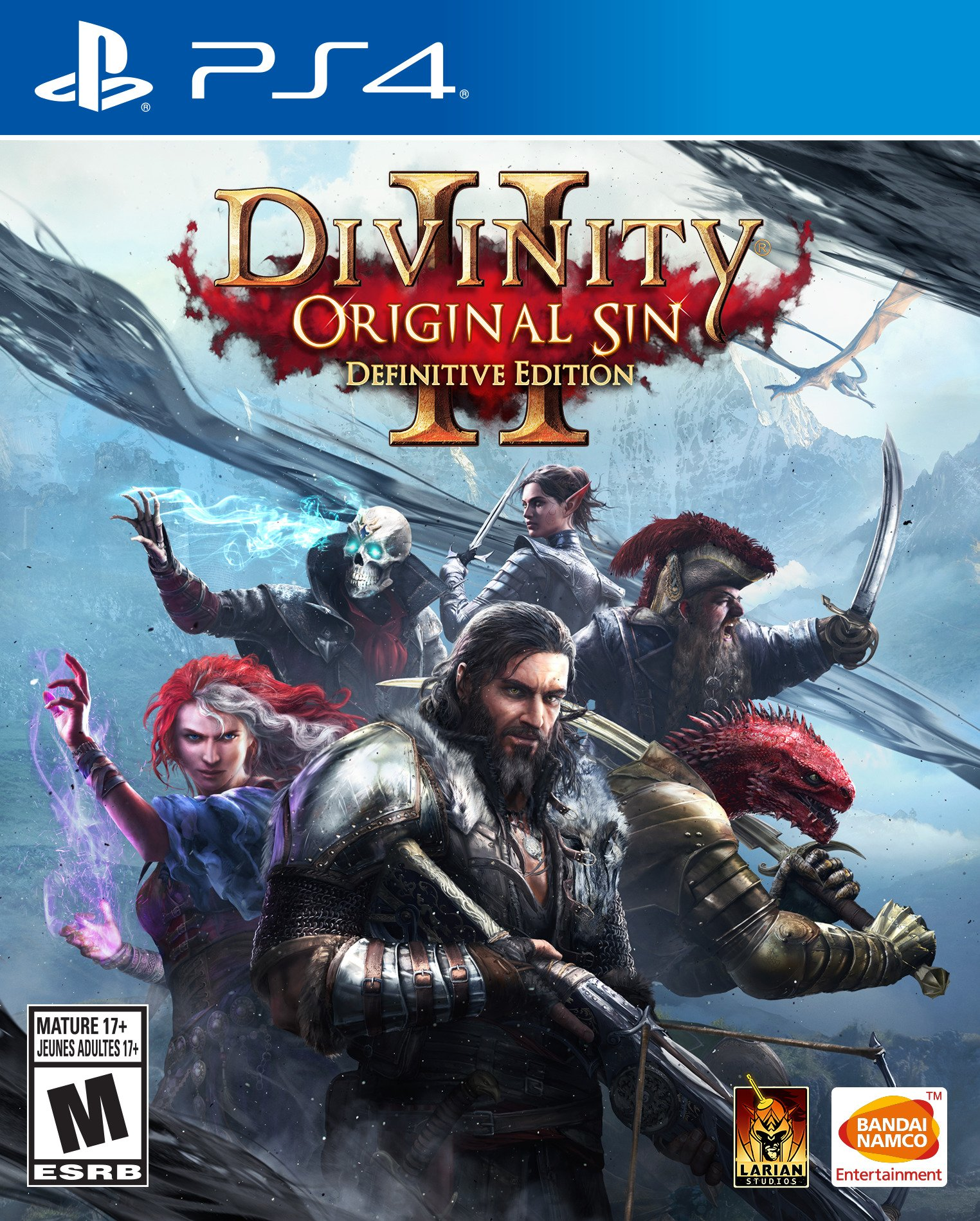 Divinity: Original Sin 2 - Playstation 4 Definitive E (f1js)