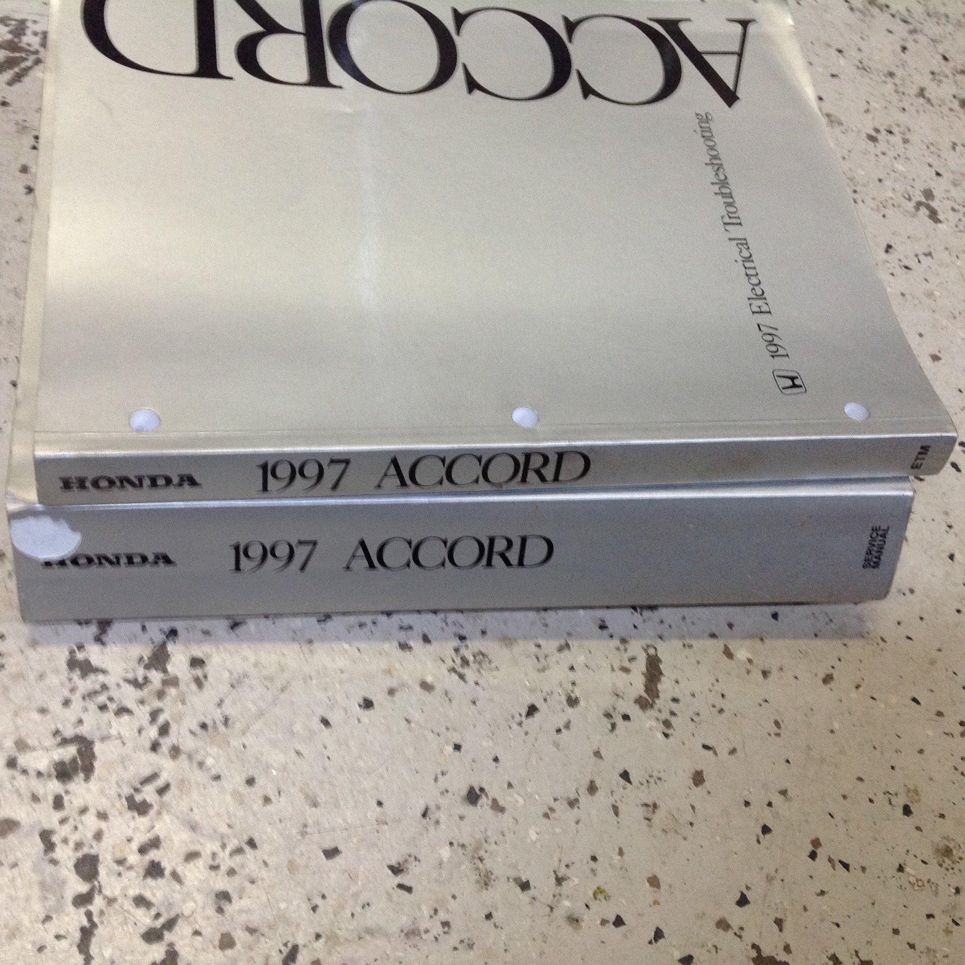 1997 Honda Accord Service Shop Repair Manual FACTORY: honda: Amazon.com:  Books