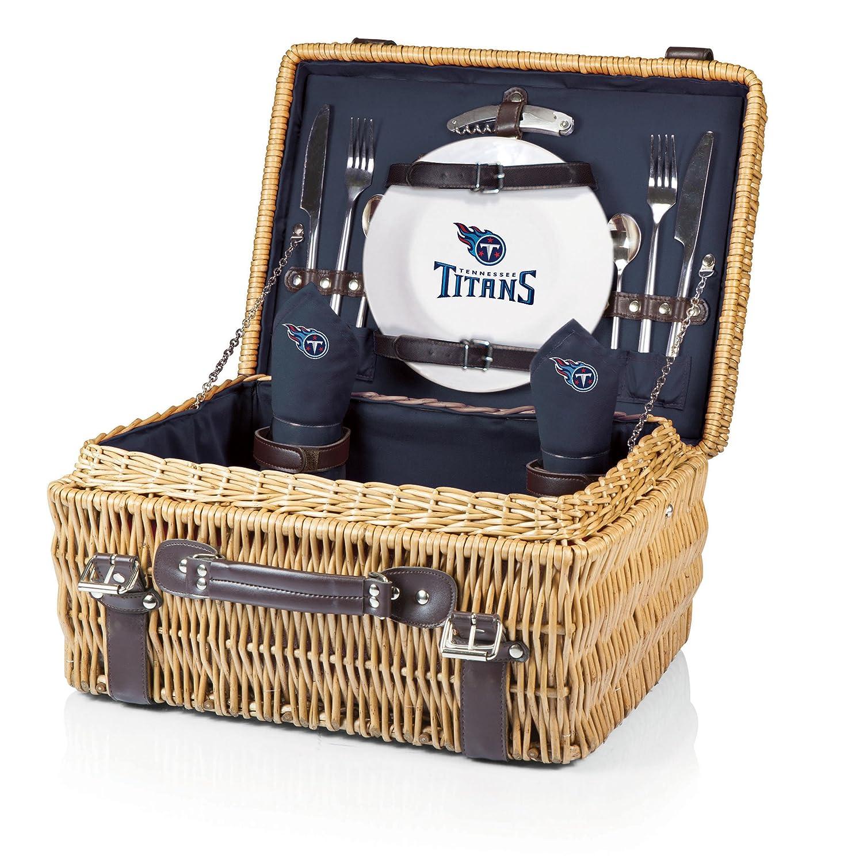 NFL Tennessee Titans Champion Picknickkorb mit Deluxe-Service für 2 Personen, Marineblau B00H4TRZ6W   Schenken Sie Ihrem Kind eine glückliche Kindheit