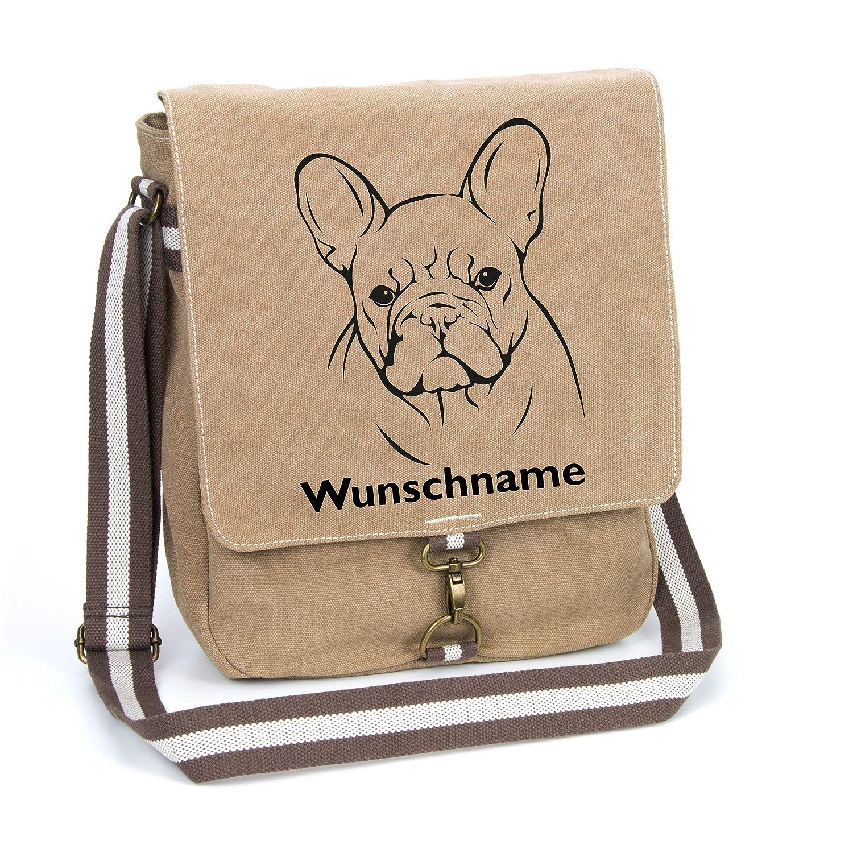 Wickeltasche mit Namen Motiv//Foto Schultertasche Messenger Bag Umhängetasche
