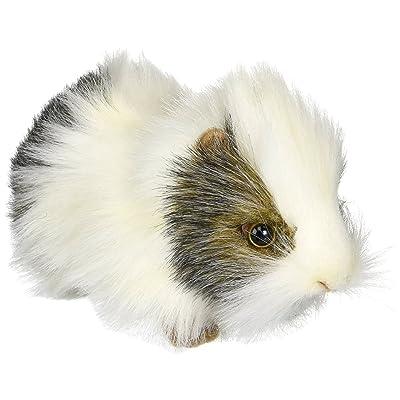 Hansa Guinea Pig Plush, Gray/White: Toys & Games