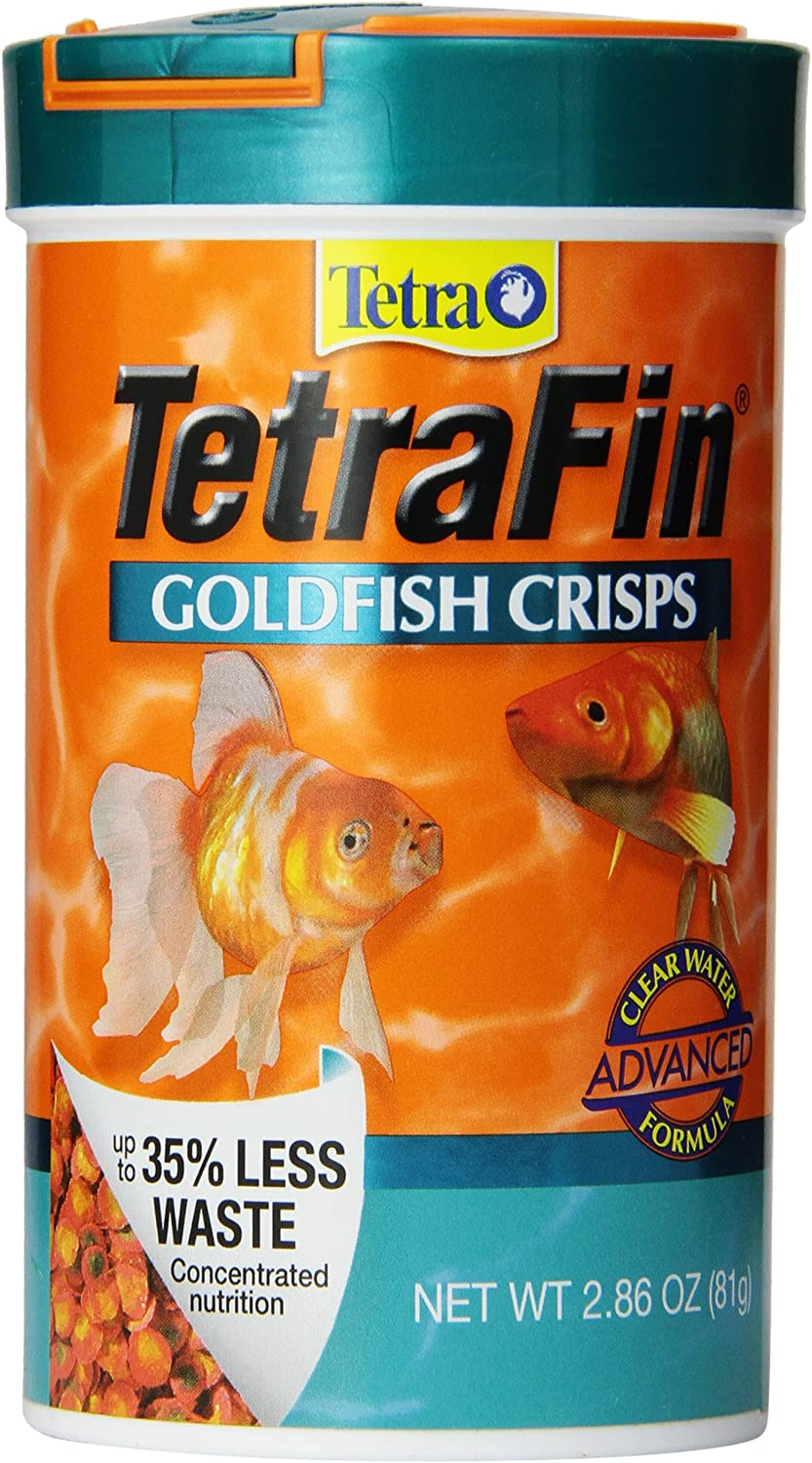 TetraFin Goldfish Crisps, Clear Water Advanced Formula