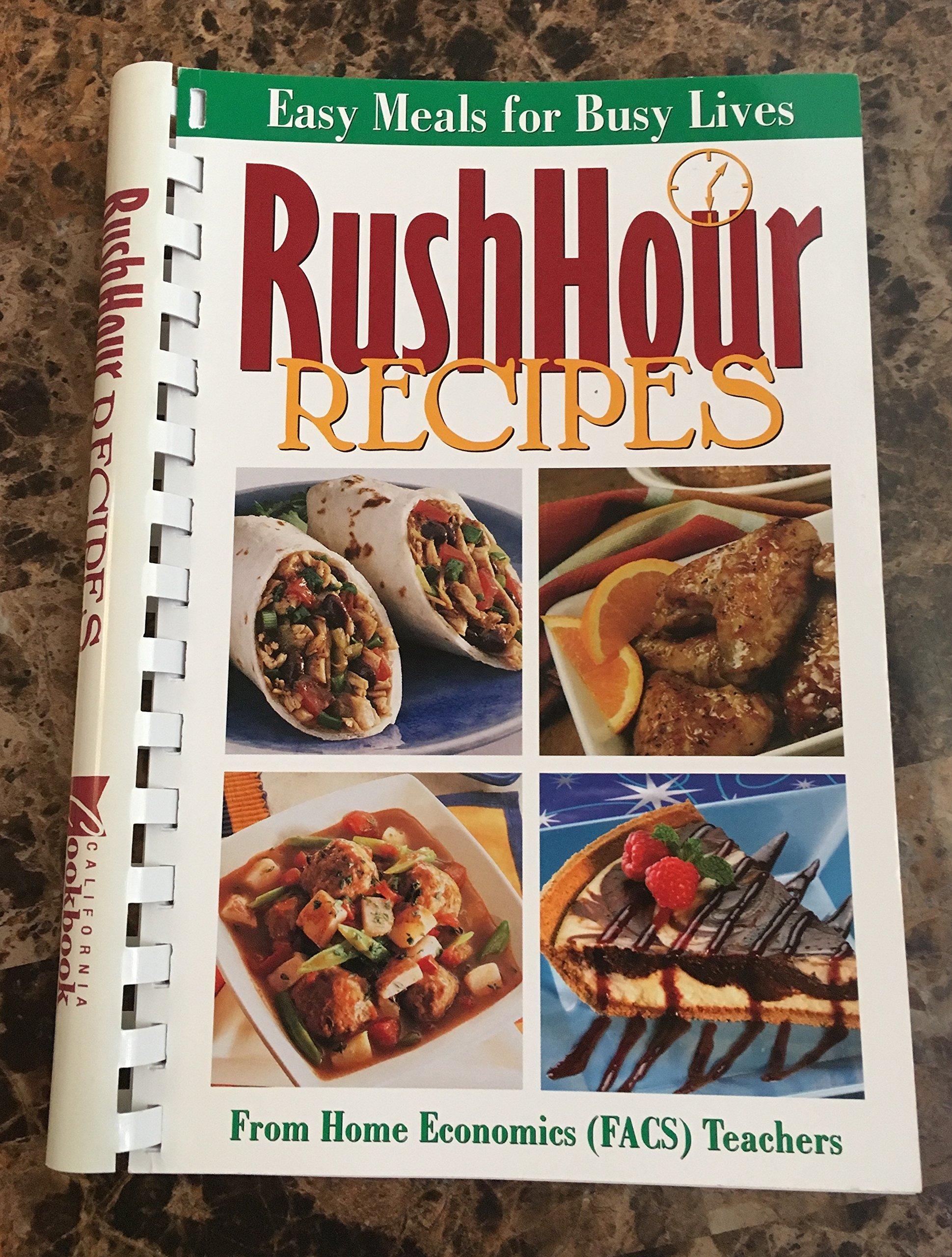Download Rush Hour Recipes from Home Economics (FACS) Teachers pdf epub
