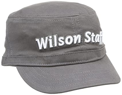6f241a33fba Amazon.com   Wilson Staff FG Tour Engineer Cap (Black