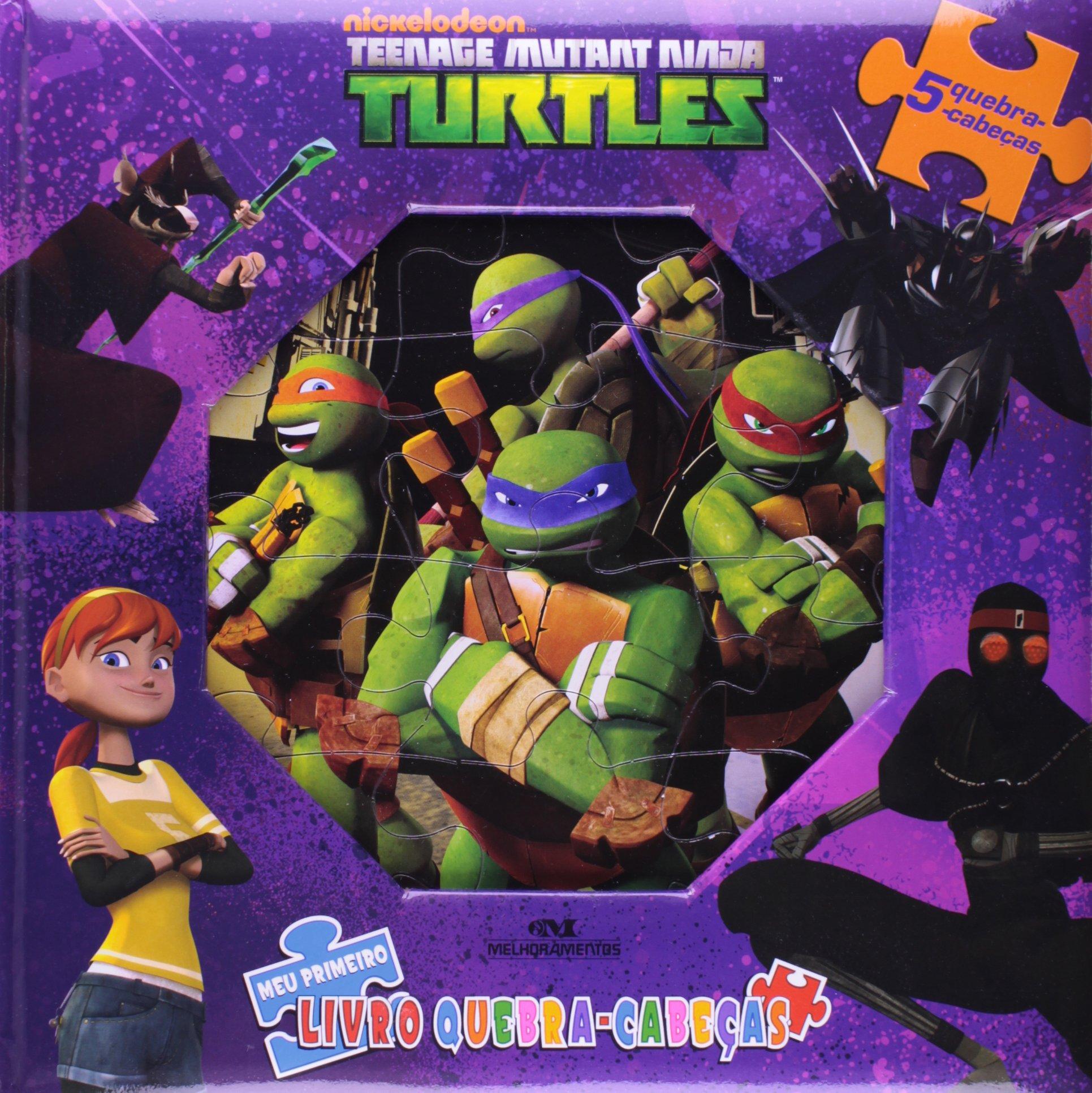 Tartarugas Mutantes Ninja - Coleção Meu Primeiro Livro ...