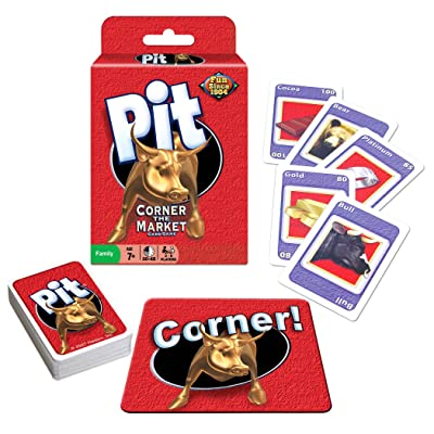 New Pit Card Game - Corner The Market Game - Winning Moves Classic Trading Game: Toys & Games