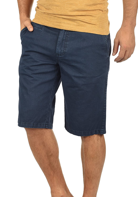 TALLA L. !Solid Viseu Chino Pantalón Corto Bermuda Pantalones De Tela para Hombre De 100% Algodón Regular-Fit